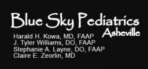 Blue Sky Pediatrics logo